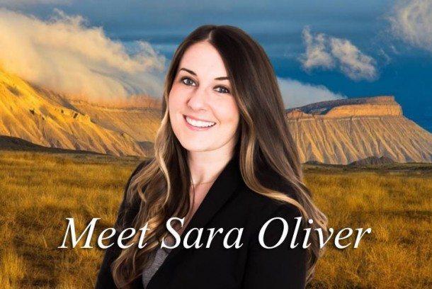Meet Sara Oliver