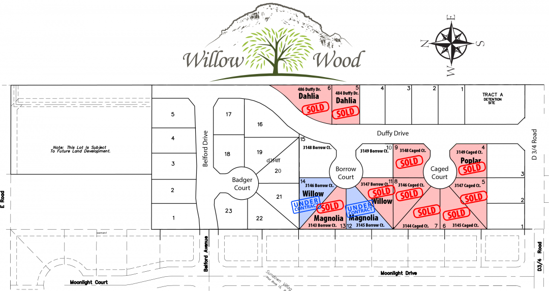 Lilac Fire Map Updated >> New Construction & Energy Star, Willow Wood | Grand Junction, CO